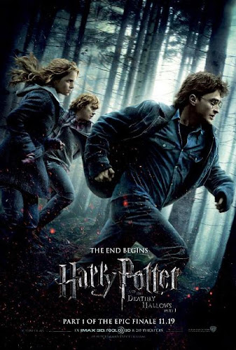 filme harry potter e as relíquias da morte parte 1 poster cartaz