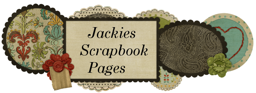 Jackies Scrapbook Pages