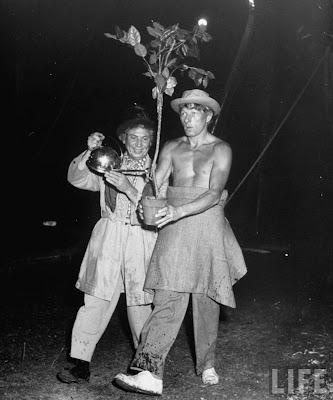 HARPO MARX AND DANNY KAYE: Ringling Clowns (1948)