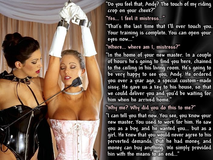 Forced Feminization Captions Blog http://shaguftahanaphie.blogspot.com/2010_04_01_archive.html