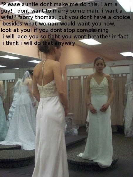 Transvestite bridesmaid stories
