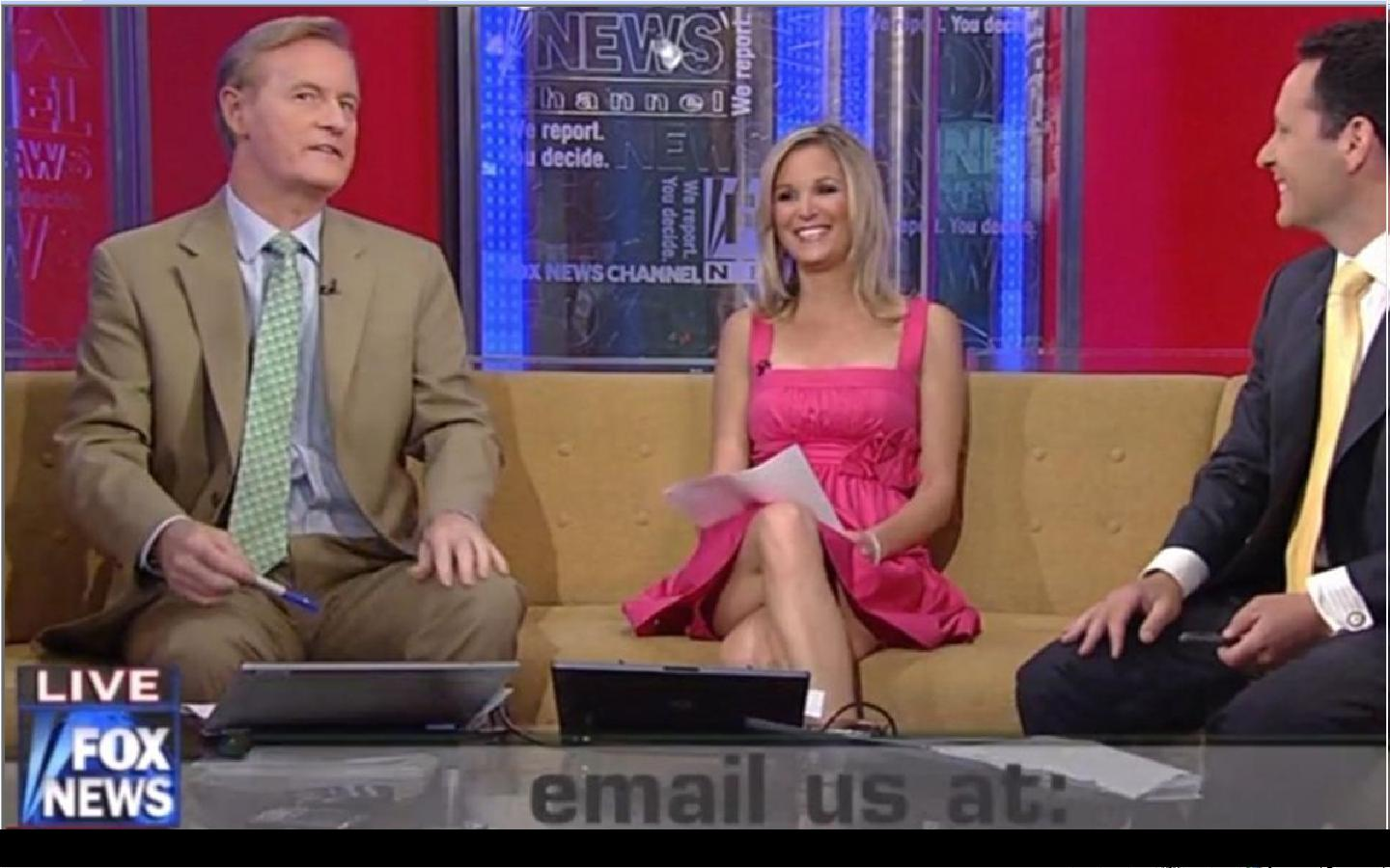 Fox TV female upskirts porn was