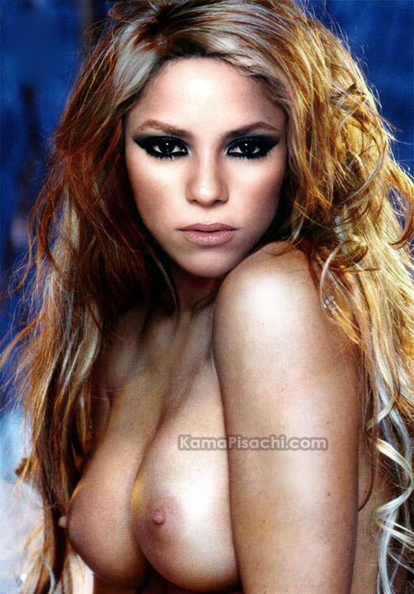 Famous Pop Star Shakirafor The First Time Posing Full Nude Shakira