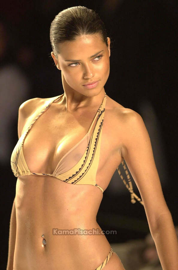 Hot Adriana Lima Nipple Slip Photos