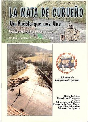 Boletin 114 - Portada - Verano 2009 por La Mata de Curueño (León)