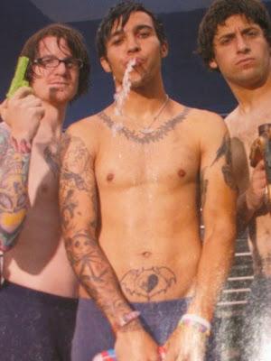 Can Pete wentz nude