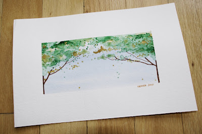 Watercolour - Tree Canopy