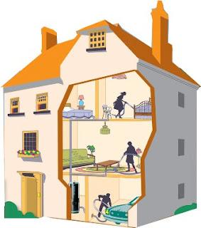 la maison de christophe et odile avec mikit l 39 aspirateur centralis. Black Bedroom Furniture Sets. Home Design Ideas
