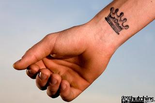 crown tattoos, tattooing