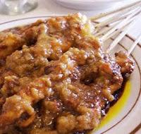 Chicken Satay Sate Ayam