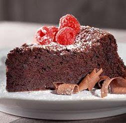 Delicious Chocolate Soufflé Cake