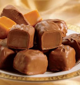 Chocolate Covered Crunchy Candy