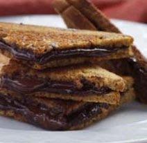 Grilled Dark Chocolate Sandwich