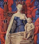 Madona  (Jean Fouquet -1450)