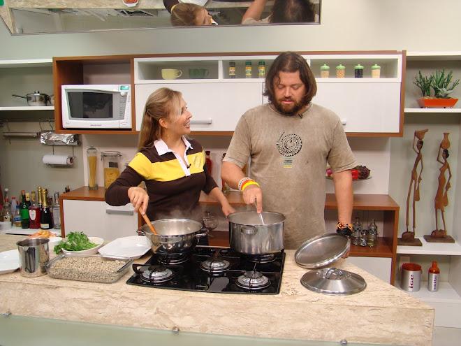 Richard e eu, maio 2009