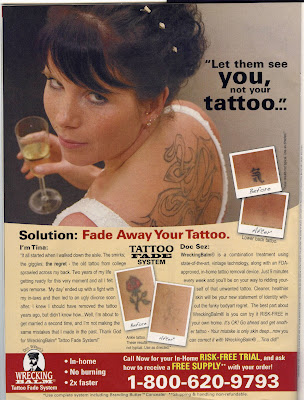 Well, Karla, you're in luck, because Doc Wilson's Wrecking Balm Tattoo Fade