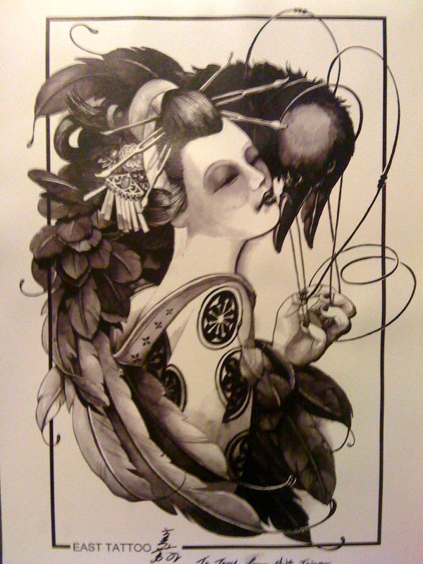 : Guest Artist 18 Feb- 25 Feb 2011, Chia from East Tattoo Taiwan