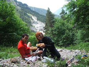 No hay nada como un buen bocata en la montaña con la Pepa