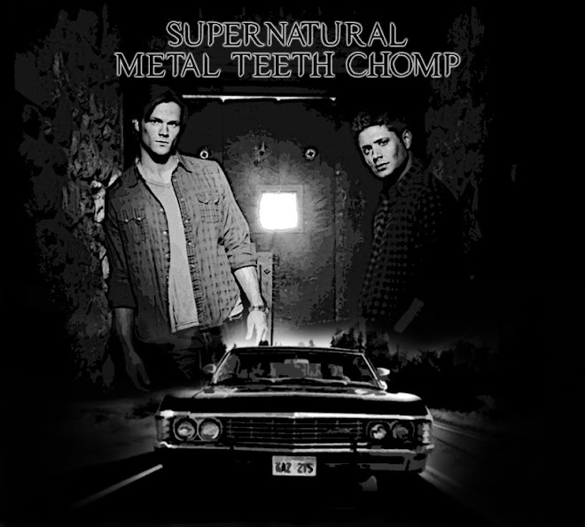 Supernatural -  Metal Teeth Chomp
