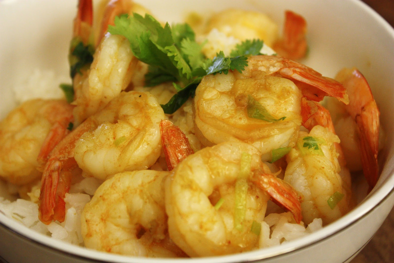 Deeelish By Mish: Thai Coconut Curry Shrimp