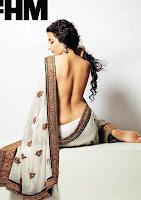 Vidya Balan Braless FHM Photo Shoot