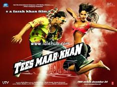 Tees Maar Khan DVD Poster Screenshots Hindi movie wallpapers photos CD covers review stills Akshay Kumar,Katrina Kaif,Akshaye Khanna