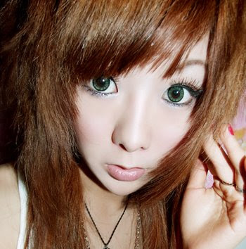 Anime Eyes Girl. Yeah cute, Japanese girl is