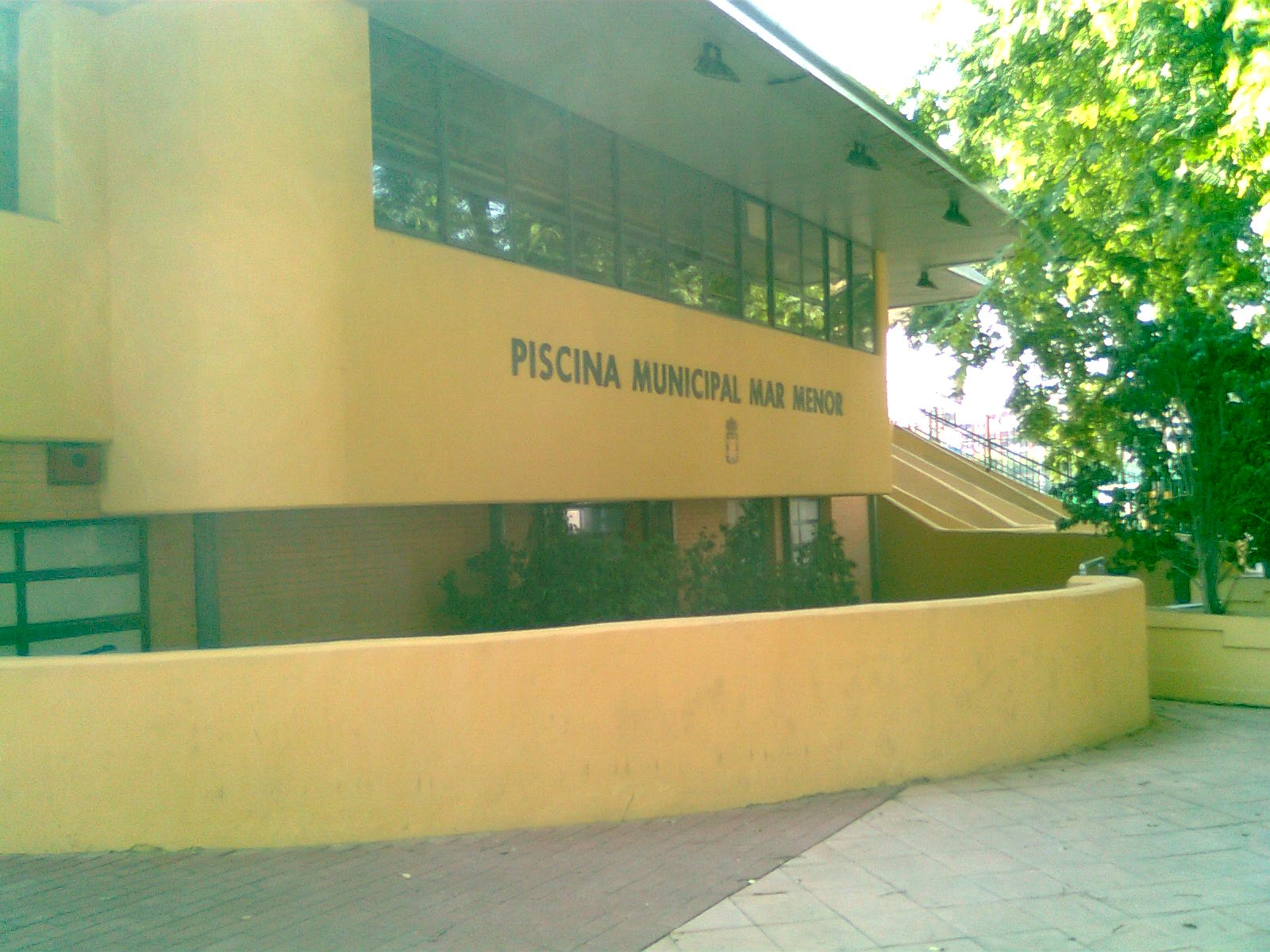 Murciadailyphoto marmenor swimming pool piscina for Piscina municipal