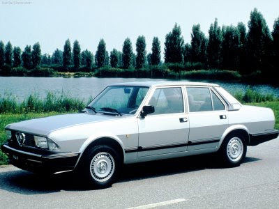 The Alfa Romeo Alfa 6 was a executive car produced by the Italian