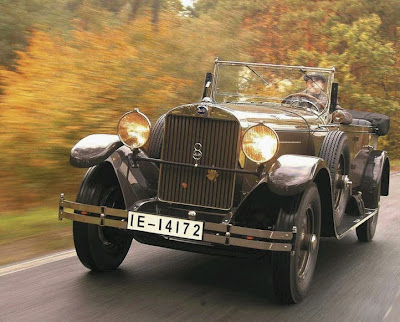 1929 Audi Imperator,car. The Imperator has been heard restored to its