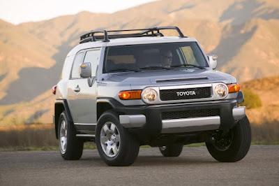 Pic of Toyota FJ Cruiser for Australia
