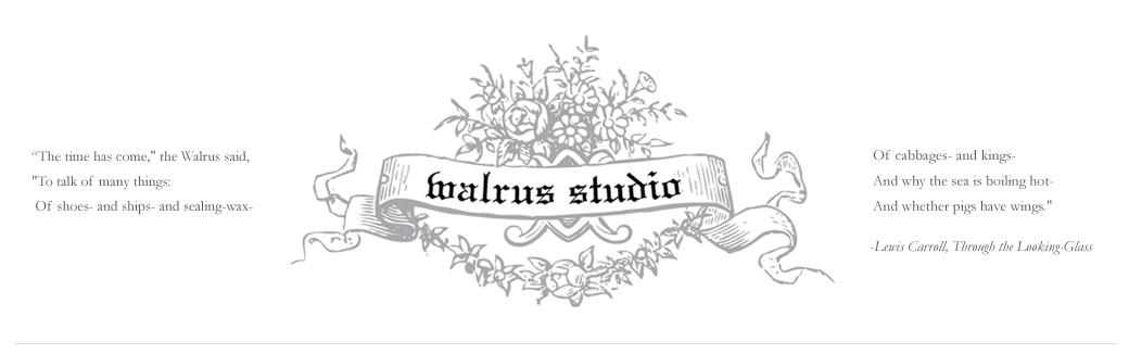 walrus studio