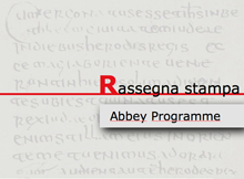 ABBEY PROGRAMME Rassegna Stampa