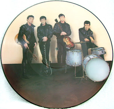 Silver Beatles picture disc