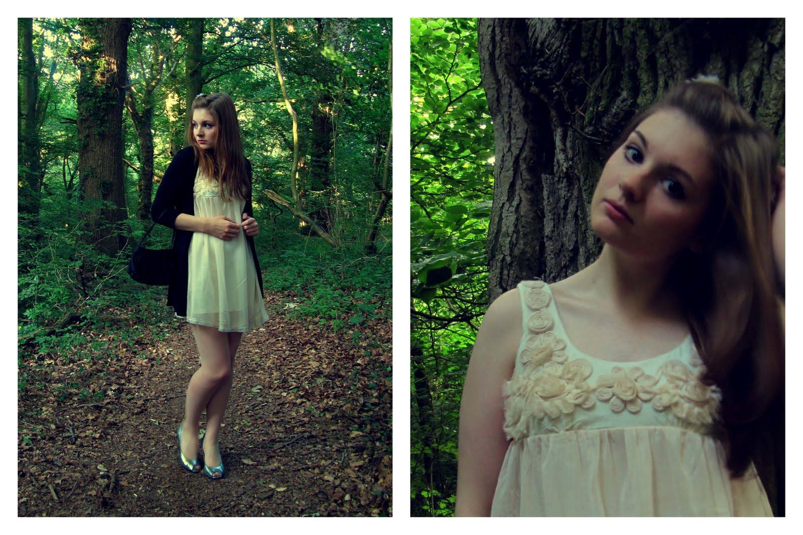 Romantic Chiffon Baby Doll Dress