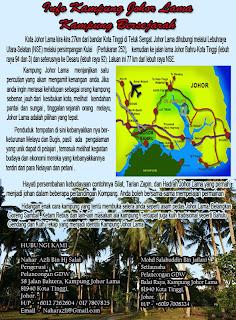 Info 2 : Sejarah Kota Johor Lama