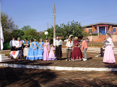 Autoridades Presentes na Abertura do Projeto da Escola - Semana Farroupilha