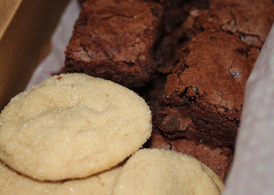 Psssst: Brownies and cookies are a great gift via lilblueboo.com