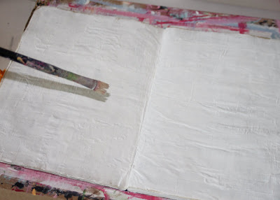 Making a Composition Book Art into a Journal 16 (Tutorial) via lilblueboo.com