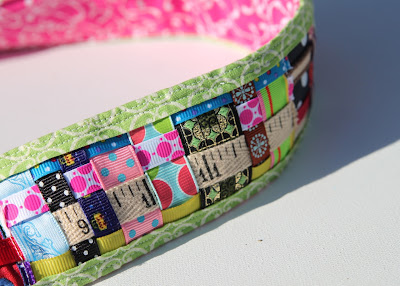 Scrap Ribbon Camera Strap Cover (A Tutorial) 3 via lilblueboo.com