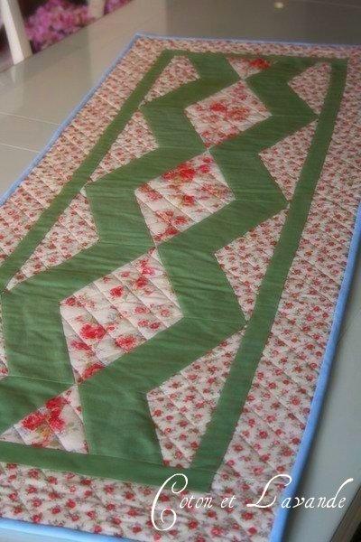 Patchwork en casa patchwork with love tutorial camino - Camino mesa patchwork ...