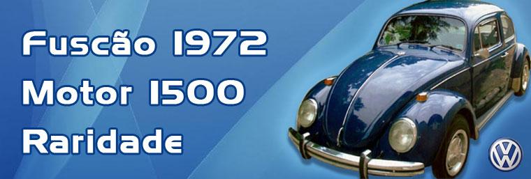 Vendo Fusca Azul - 1972 - Motor 1500