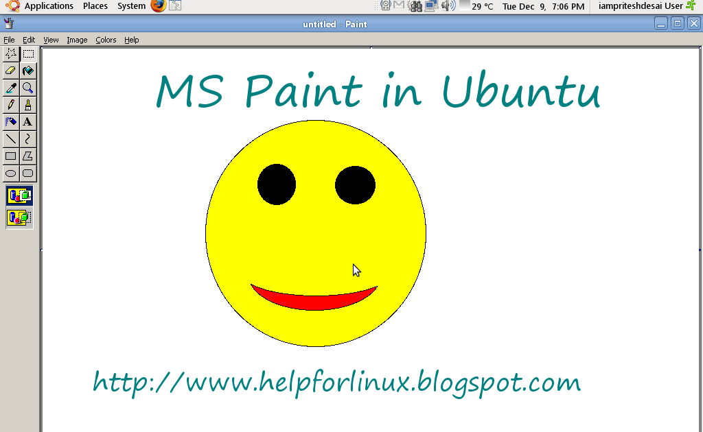 Help for linux run ms paint in linux Paint for linux