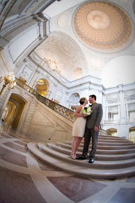 Chris and Jess at SF City Hall