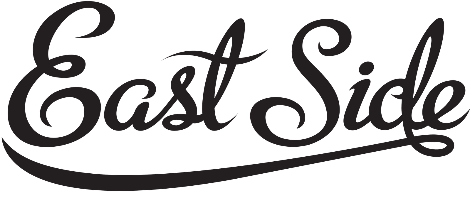 Pin east side logo on pinterest