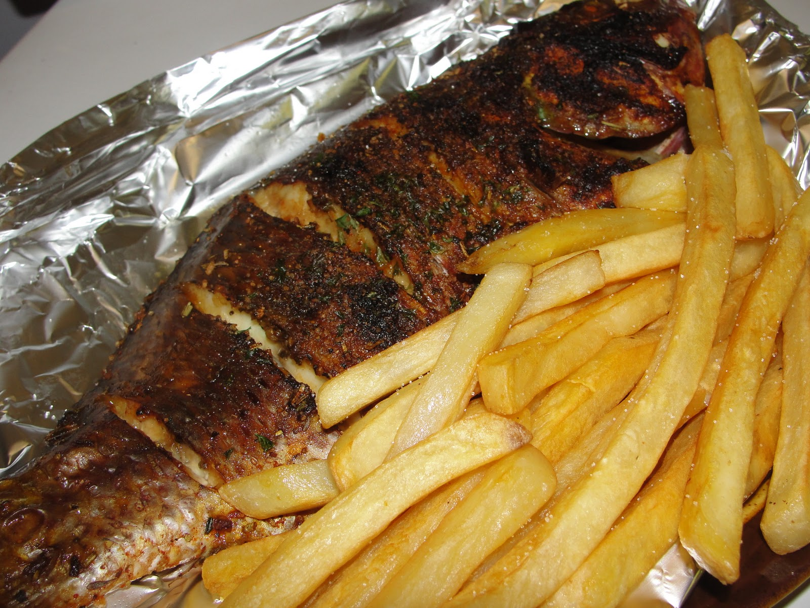 Modern african cuisine hommade fish and chips for African cuisine near me