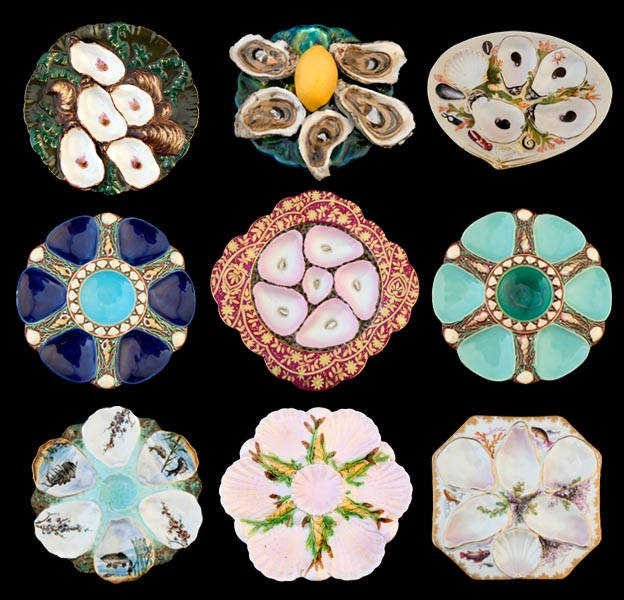 John Collier's Oyster Plates