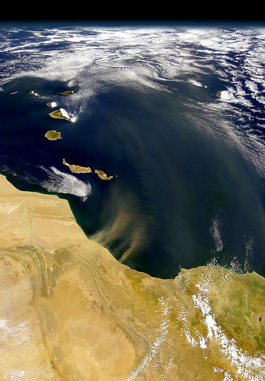 CANARIAS Y DESIERTO DEL SAHARA