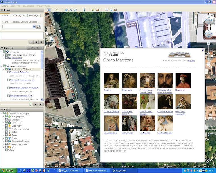 TAREA-5: GOOGLE EARTH EN EL MUSEO DEL PRADO