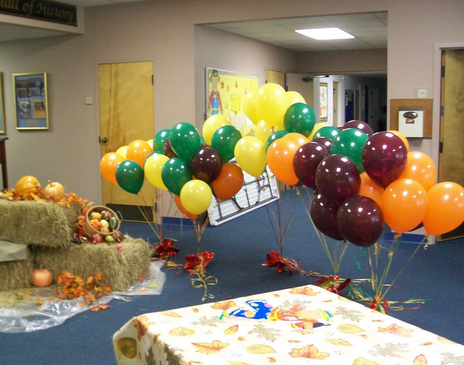 Party people event decorating company fall festival loose for Balloon decoration company